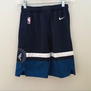 Nike NBA Timberwolves Basketball Shorts Small
